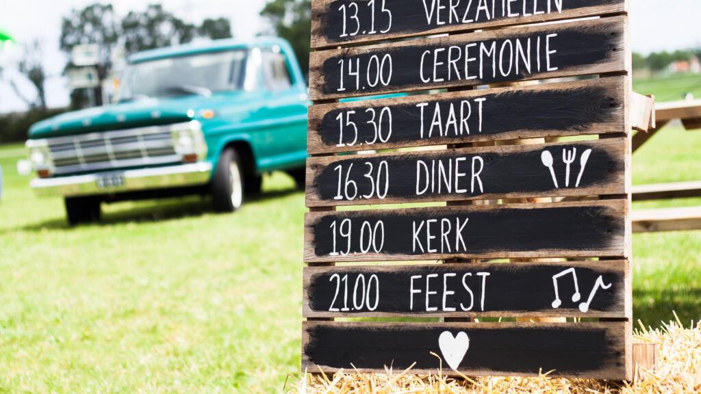 Dagplanning wedding